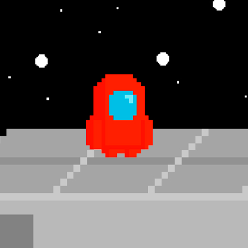 Red İmpostor Guys : Multiplayer Race