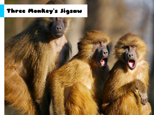 Three Monkey's Jigsaw