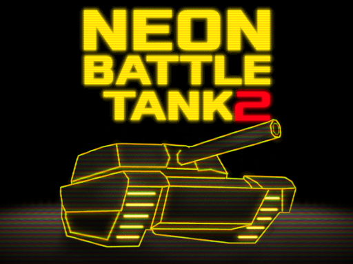 Neon Battle Tank 2 - New Games - Cool Math Games