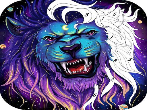 Раскраски животных – игры онлайн