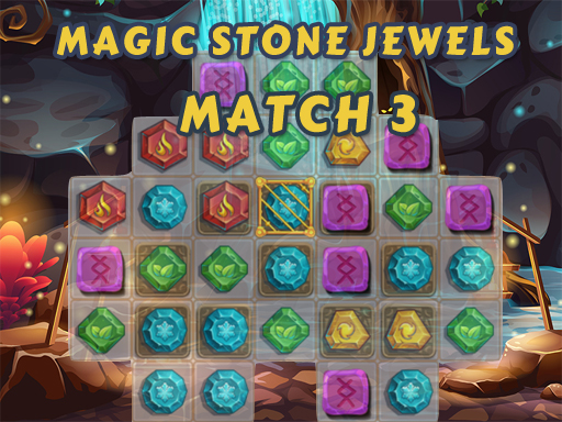Play Magic Stone Jewels Match 3 Online