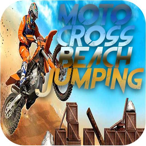 Motocross Beach Jumping