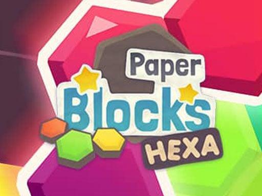Бумажные блоки Hexa