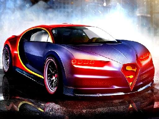 Пазл гоночный Bugatti