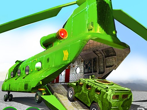 US Army Cargo Helicopter : Flying Simulator