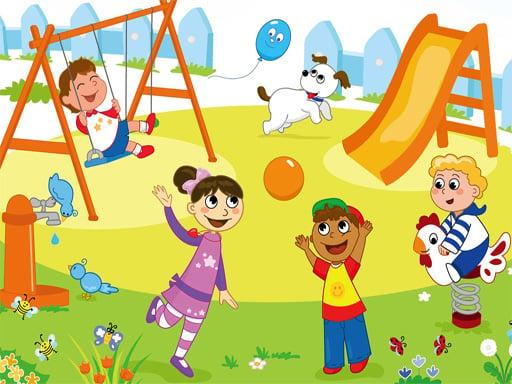 Пазл с Днем защиты детей