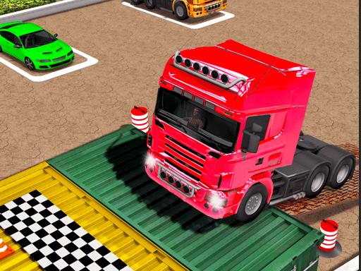 Play Truck Parking Car Games 3D