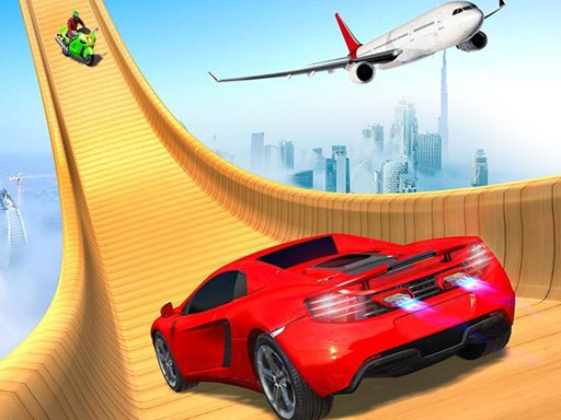 Mega Ramp Car Racing Stunt Бесплатные новые автомобильные игры 2021