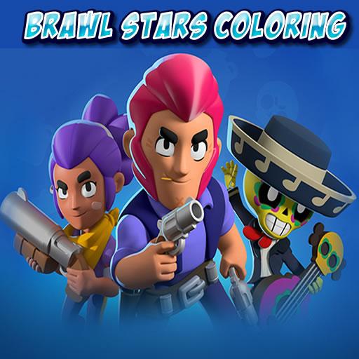 Brawl Stars Coloring