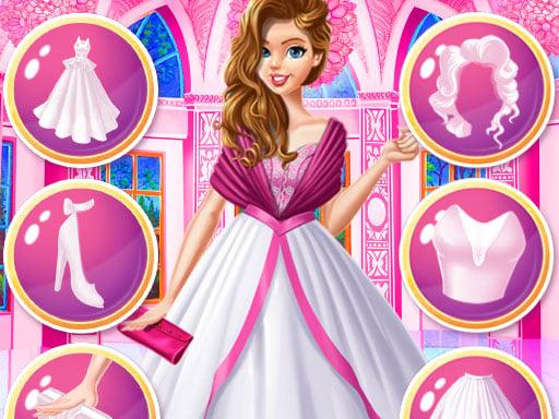 Play Dress Up Royal Princess Doll