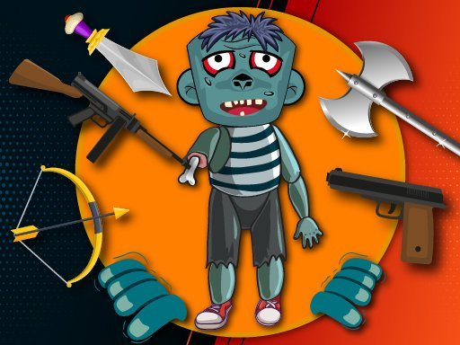 Play Kick The Zombie Online