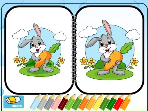 Play Easter Coloring Online