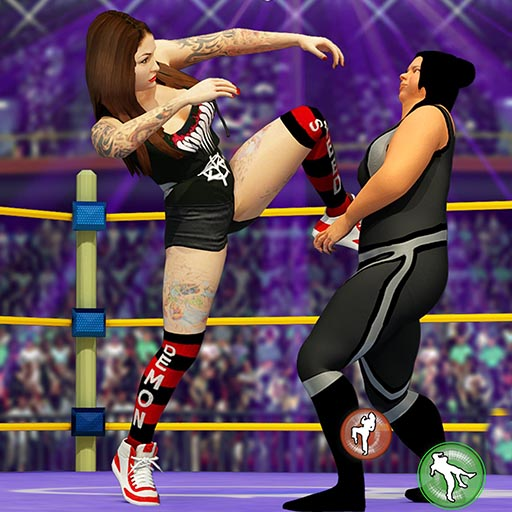 Women Wrestling Fight Revolution: Fighting Games