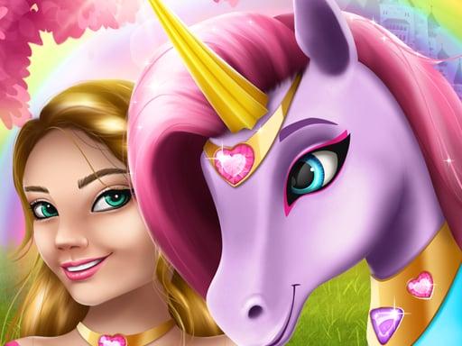 Play Unicorn Fashion dress up girls