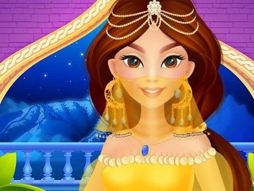 Arabian Princess Dress Up Game for Girl