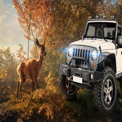 Animal Hunters-Safari Jeep Driving Game