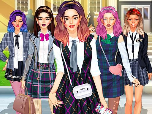 College Girls Team Makeover - girls