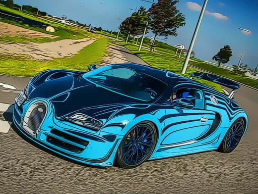 Пазл французских роскошных автомобилей