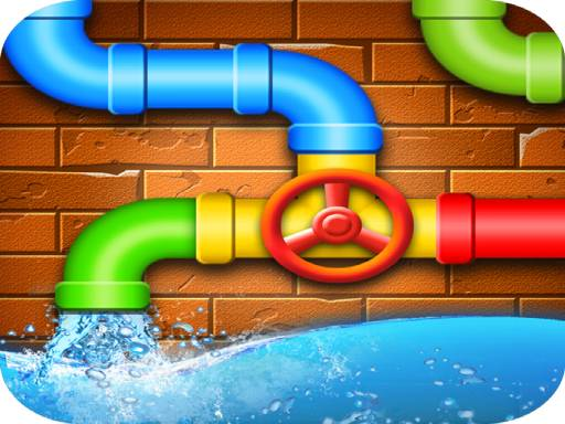 Connecting Pipes 3D