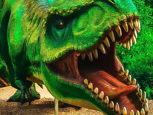 Play Dino Park Jigsaw