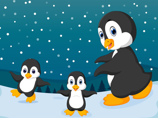 Winter Pinguins Memory