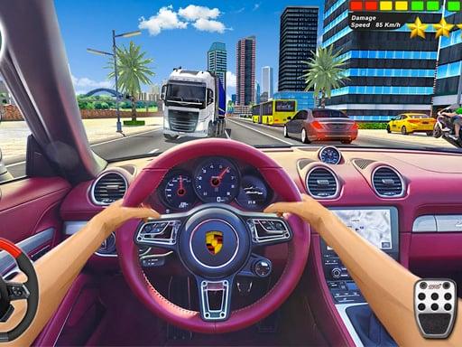 Play City Taffic Racer - Extream Driving simulator