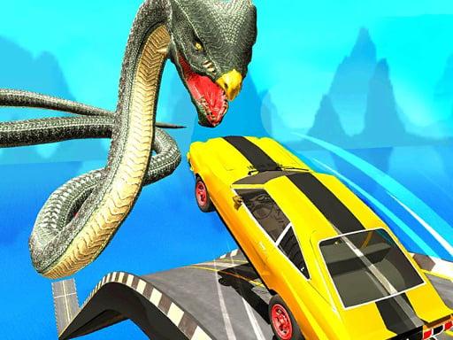 Play Ramp Car Stunts Racing Mega Ramp Stunt Car Game