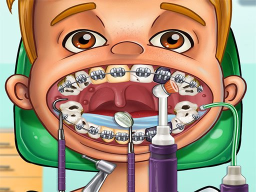 Dentist Games - ER Surgery Doctor Dental Hospital