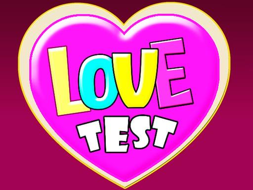 Aşk Testi Oyunu