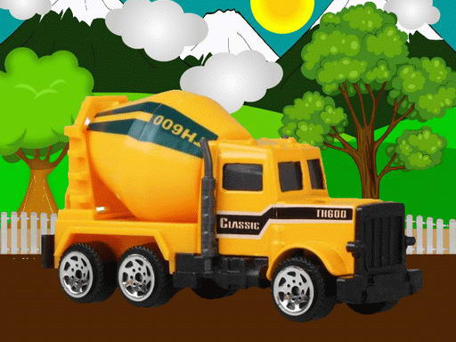 Play Construction Vehicles Jigsaw Online