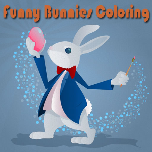 Funny Bunnies Coloring