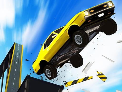 Play Ramp Car Stunts 3D- Mega Ramp